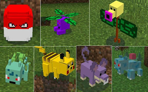 Pixelmon Mod For Minecraft Apps On Google Play - Minecraft spiele mods