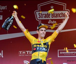 Opvallend: Wout van Aert nam tijdens Strade Bianche drie KOM's over van Britse ex-renner