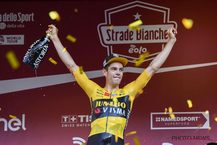 """Wout van Aert is op zijn hoede in de Strade Bianche: """"Enkel op hen letten zou dom zijn"""""""