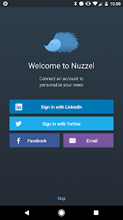 Nuzzel: News for Busy Professionals: miniatura de captura de pantalla