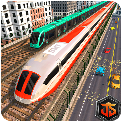 Train Racing Free Games: Euro Train Speed Driving