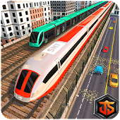 Train Racing Free Games: Euro Train Speed Driving