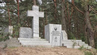 Photo: Pomnik Rzeczpospolitej Kampinoskiej w Wierszach