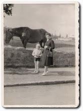 Photo: Bednarczyk Zofia z synem