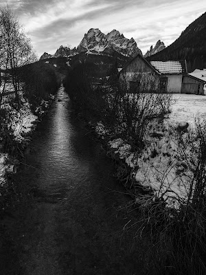 Snow river di Filippo Boatto