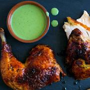 Half Peruvian Chicken Only