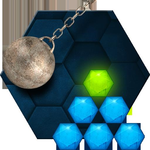 Hexasmash Physics Puzzle