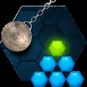 Hexasmash Physics Puzzle icon