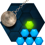 Hexasmash - Free Wrecking Ball Physics Puzzle Icon