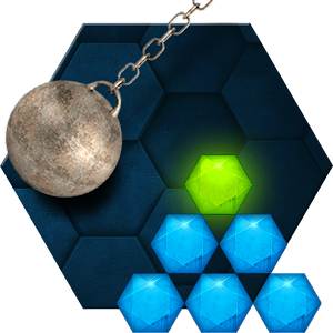 Hexasmash Physics Puzzle for PC and MAC