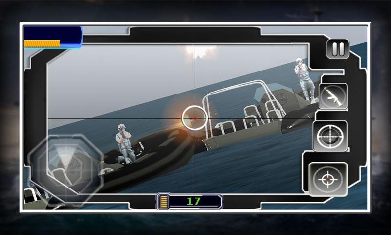 android Sniper X Marine Blitz Screenshot 2
