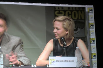 Photo: Saturday - Silent Hill Revelation panel; star Adelaide Clemens (who looks like Michelle Williams)