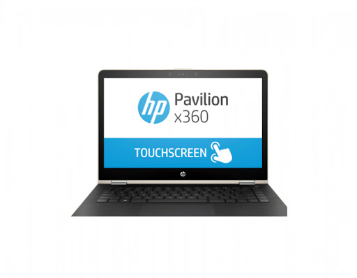 Máy tính xách tay/ Laptop HP Pavilion X360 14-ba066TU (2GV28PA) (Vàng)