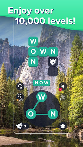 Puzzlescapes: Relaxing Word Puzzle & Spelling Game filehippodl screenshot 1