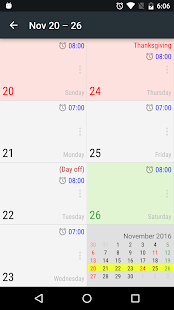 New Alarm: Clock with Holidays - náhled
