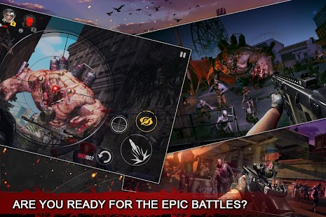 DEAD WARFARE: RPG Zombie Shooting - Gun Games Screenshot