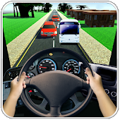 Driving in Bus Racing 3D