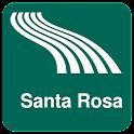 Карта Санта-Розы оффлайн icon