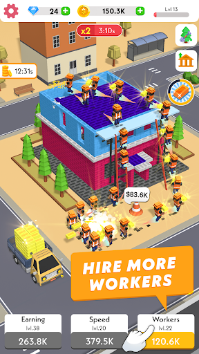 Code Triche Idle Construction 3D APK MOD screenshots 3