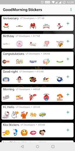 Good Morning Stickers For WhatsApp 3.3 screenshots 1