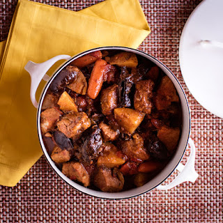Chipotle Pork Stew with Dried Plums.