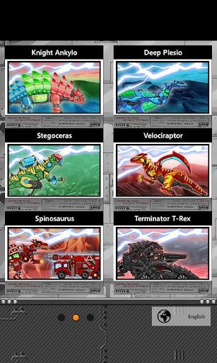 Transform Dino Robot - General Mobilization  screenshots 3