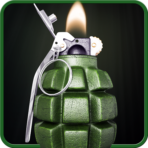 Virtual lighter. Icon