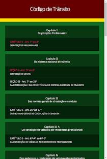 Código de Trânsito Brasileiro - náhled
