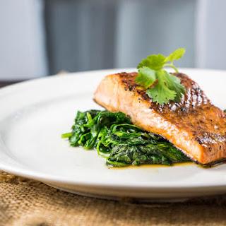 Seared Worchester Salmon Recipe
