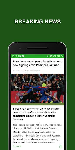 Soccerbook- Live Score, Soccer News, Videos for PC
