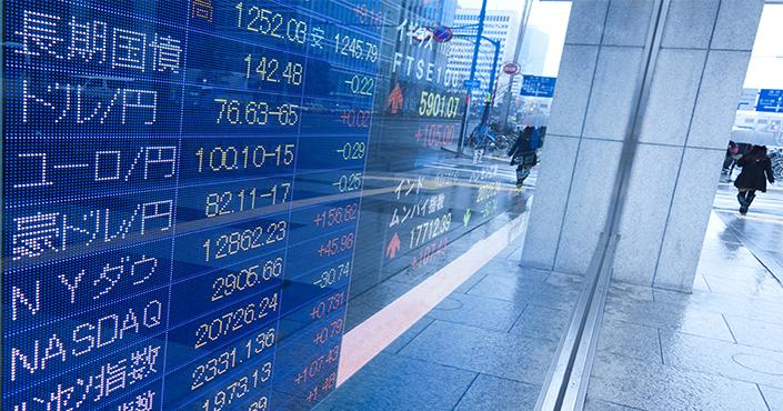 التداول على مؤشرات الأسهم