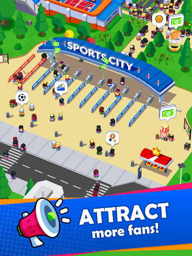 Sports City Tycoon - Idle Sports Games Simulator modavailable screenshots 24