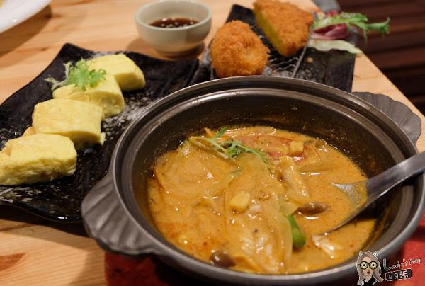 蓮REN日本食堂 代官山南洋咖哩炸豬排,南京復興巷弄美食餐廳