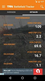 TRN Stats: Battlefield 1- screenshot thumbnail