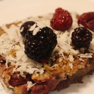 Sweet Potato Berry Breakfast Bake (Whole 30 Compliant, Paleo, Dairy Free, and Gluten Free)
