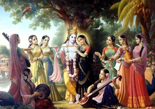 Lord Krishna Live Wallpaper HD 1.0 screenshots 1