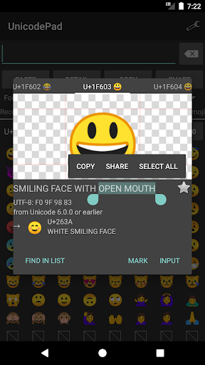 Unicode Pad 2.8.0 Screenshots 1