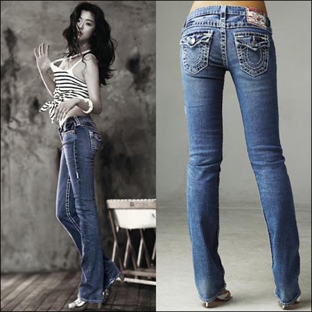 Jeon Ji Hyun Gianna Jeans Fashion Photos