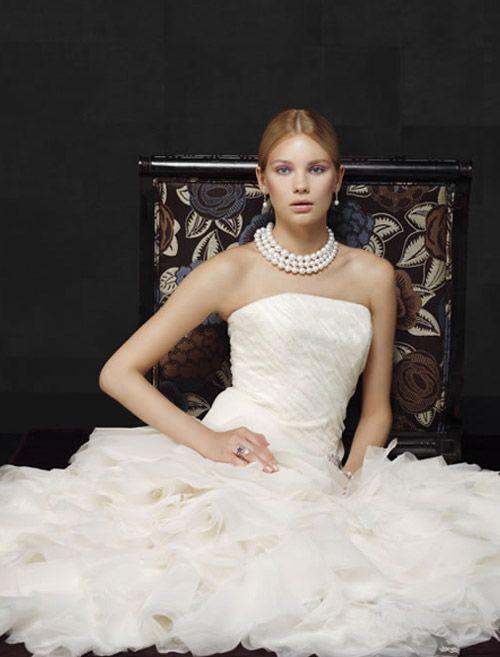 bridal dress for older women