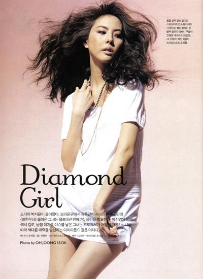 Korea Actress PARK JI YOON (박지윤) Photos :: GIRLS.PIC
