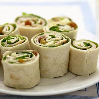 Pork and Salad Wraps