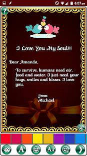 Design Romantic Love Cards - náhled