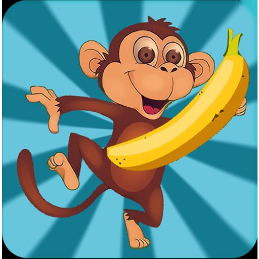Прикольного тигра, картинки обезьянка с бананом