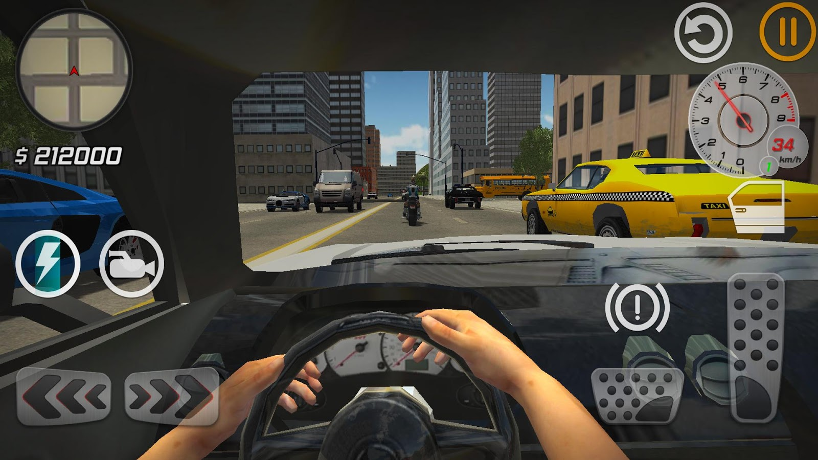Car Racing Games Taxi Driver