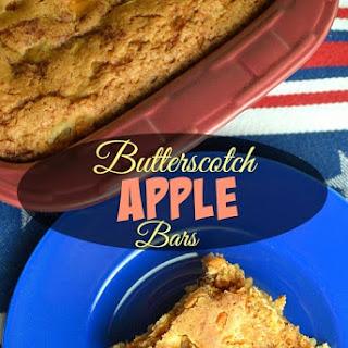 Butterscotch Apple Bars