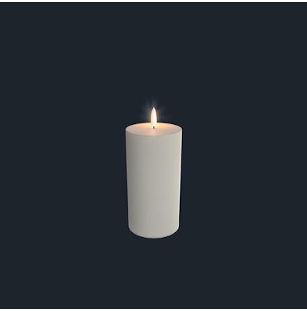 UYUNI Pelarljus LED - IVORY - 7,8 x 18 CM
