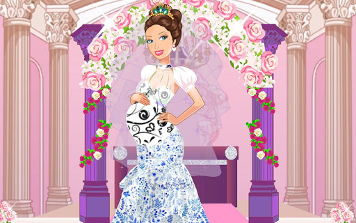 Wedding of Pregnant Princess