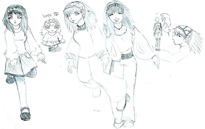 algumas poses