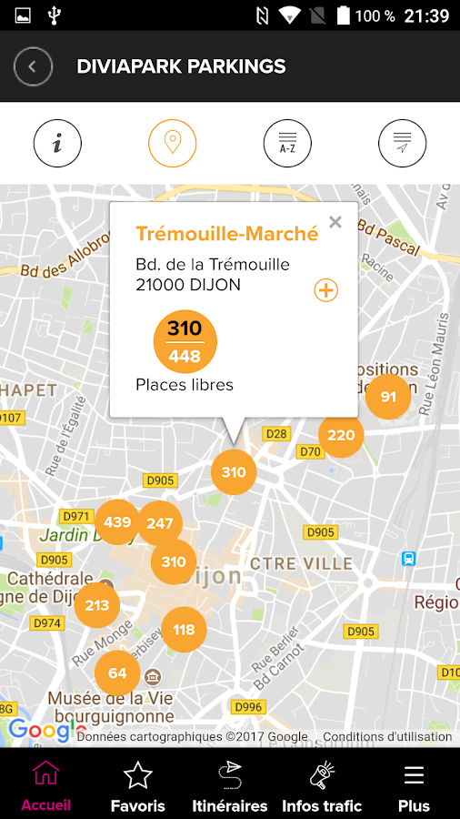Divia mobilit s android apps on google play - Divia dijon horaire d ouverture ...