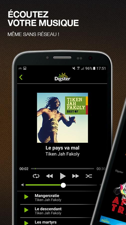 Digster Music COTE D'IVOIRE- screenshot